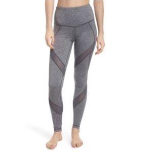 Zella grey high waisted cropped leggings